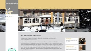 Hotel Edelweiss Davos - Ski Hotel Davos