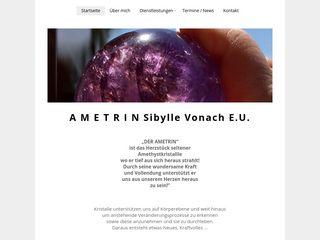 AMETRIN Sibylle Vonach e.U.
