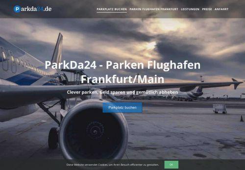 Parken nähe Flughafen Frankfurt