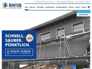 Santos Trockenbau und Malerbetrieb
