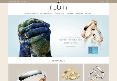 Rubin Goldschmuck GmbH Trauringe und Verlobungsringe