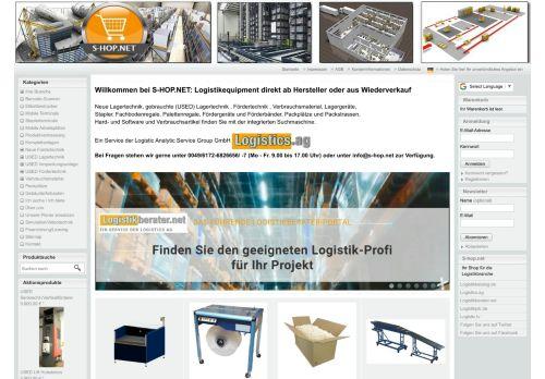 Logistikequipment direkt ab Hersteller oder aus Wiederverkauf