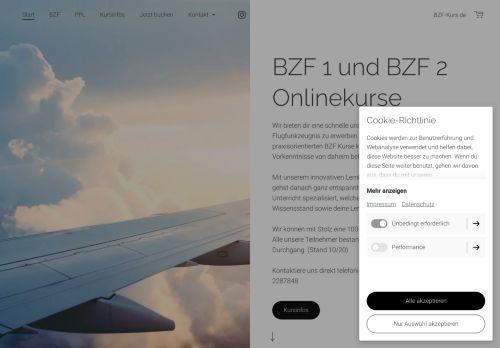 BZF 1 und BZF 2 Sprechfunk-Kurse für die Luftfahrt