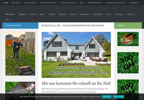 Basenau24.de - Alles rund um die Mähroboter