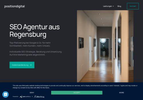 Position Digital - SEO Agentur aus Regensburg