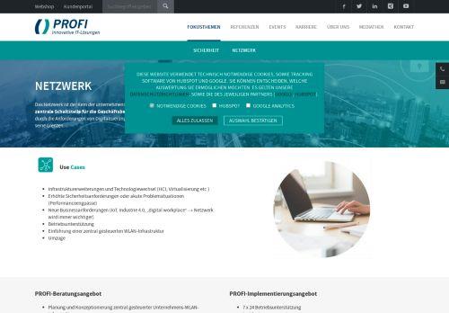 IT Security und Netzwerklösungen der Profi AG