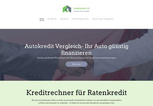 Kreditrechner für Ratenkredite