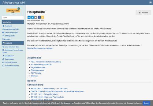 Arbeitsschutz-Wiki.de