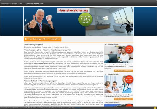 versicherungsvergleich-js.de - Kostenloser Versicherungsvergleich