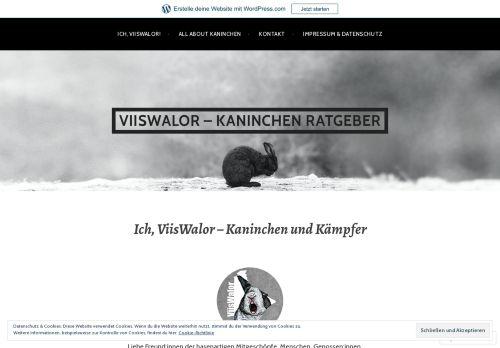 ViisWalor - Kaninchen Ratgeber