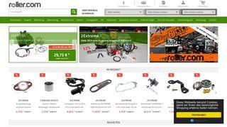 Roller, Scooter und Motorrad Ersatzteile - Rollercom