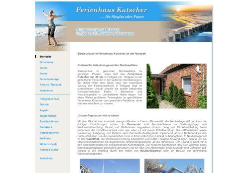 Ferienhaus Kutscher - Urlaub in Ostfriesland