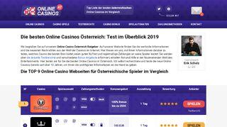 Online Casino Testberichte für Österreich
