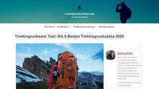 Trekkingrucksack Test - Die 5 besten Trekkingrucksäcke 2020