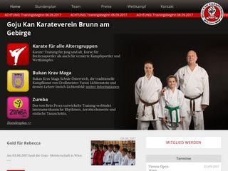 Goju Kan Karateverein Brunn am Gebirge