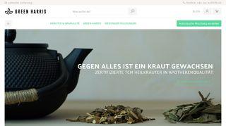 Green Harris | TCM Fertigprodukte und individuelle Mischungen