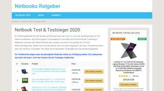 Testsieger Netbooks