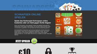 Schnapsen Online spielen