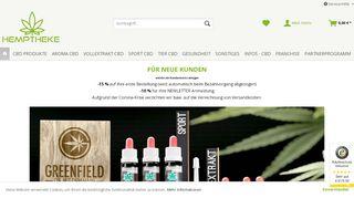 Hemptheke - Hochwertige CBD Produkte (ÖL, Blüten, uvm.)